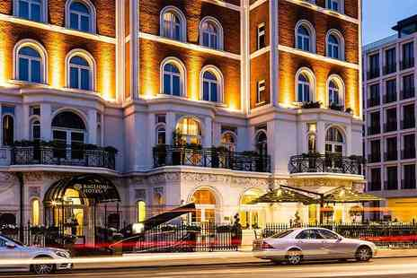 The Baglioni Hotel - Spa day for one person, a 50 minute treatment, afternoon tea, a glass of Ferrari sparkling wine - Save 27%