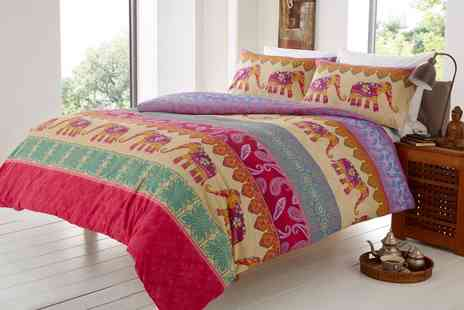 Groupon Goods Global GmbH - Elly and Fleur Duvet Set - Save 0%
