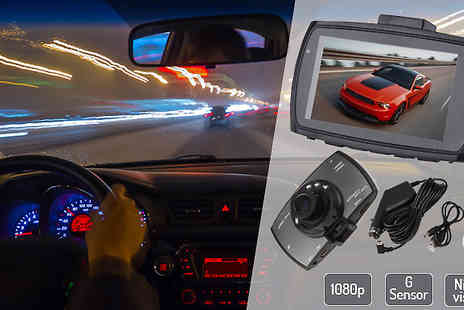 Fantasy Supply - HD 1080P Car Dash Cam with Night Vision and G Sensor - Save 82%
