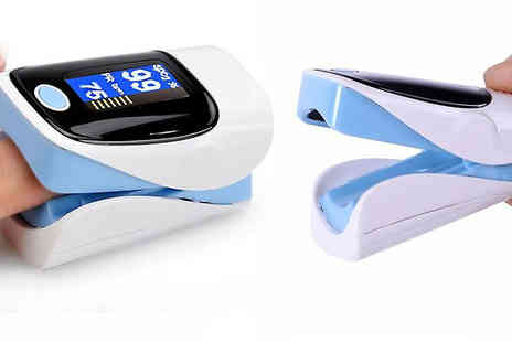 Fantasy Supply - Fingertip Pulse Oximeter Monitor Available in 5 Colours - Save 83%