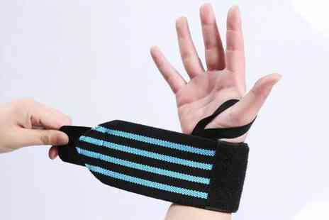 Blu Fish - Adjustable wrist support or Two wrist supports choose from five colours - Save 80%