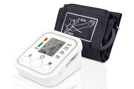 Express Living - Dgital automatic blood pressure monitor - Save 70%