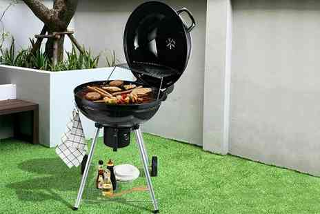 direct2publik - Large kettle barbecue steel grill - Save 67%