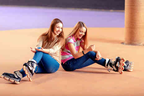 Simply Skate Arena - Roller skating admission, skate hire and a drink for two people - Save 56%