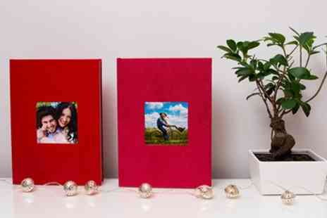 Colorland - 28, 40 or 60 Page A4 Ecoleather or Textile Hardcover Photobooks - Save 76%
