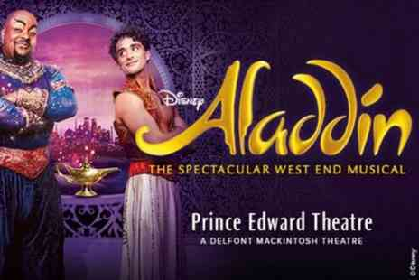 OMGhotels - Aladdin The Musical London Theatre Show and West End Dining - Save 0%