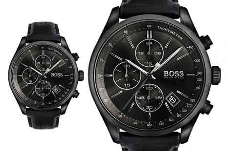 The Best Watch Shop - Mens Hugo Boss Grand Prix Chronograph watch 1513474 - Save 56%