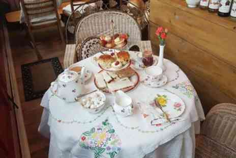 The Temple Cafe - Afternoon Tea with Bottomless Pots of Tea or Coffee for Two or Four - Save 27%