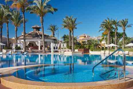 Caleia Mar Menor Golf & Spa Resort - Exquisite Five Star Hotel Close to Golf Trail for two - Save 68%