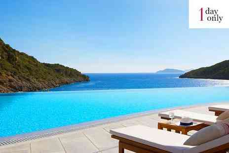 Daios Cove Luxury Resort & Villas - Five Star Spectacular Escape with Infinite Sea Views for two - Save 0%