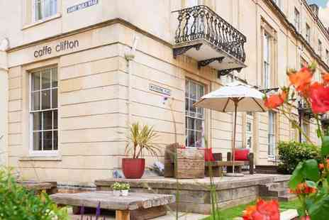 The Clifton Hotel - Afternoon tea for two people with a glass of prosecco or elderflower eachl - Save 46%