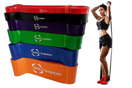Nu Fit - Heavy duty resistance band - Save 63%