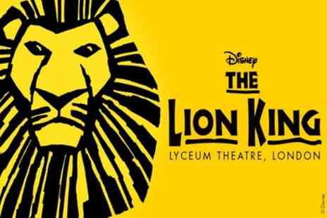 OMGhotels - The Lion King London Theatre Show and West End Dining - Save 0%