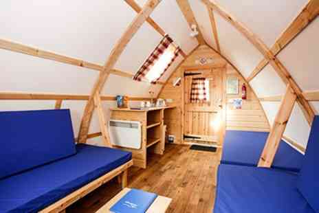 Wigwam at NDAC - 1 or 2 Nights Self Catering Wigwam Stay For Up To Five - Save 42%