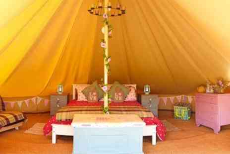 Merry Dale Bell Tents - 2 or 3 Nights Glamping for Four at Merry Dale Bell Tents at Humble Bee Farm - Save 50%