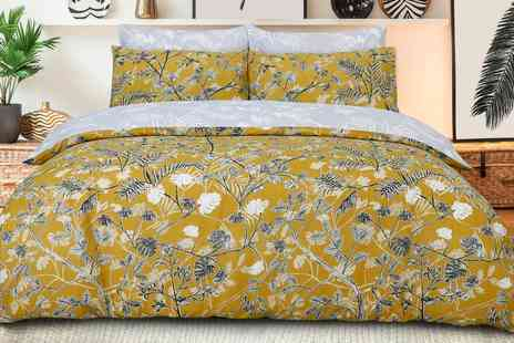 Groupon Goods Global GmbH - Sleepdown Monkey Trees Reversible Duvet Set - Save 0%
