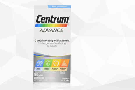 NHL Pharmacy - 3mnth supply of Centrum multivitamin Advance tablets - Save 53%