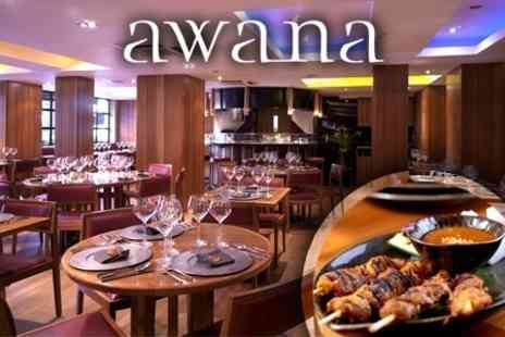Awana - Malaysian Journey Five Course Taster Menu For Two- Save 62%