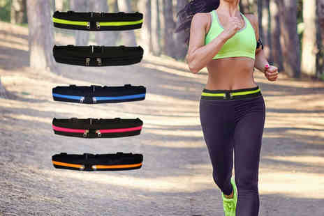 YelloGoods - Multi function running belt Choose from five colours - Save 75%
