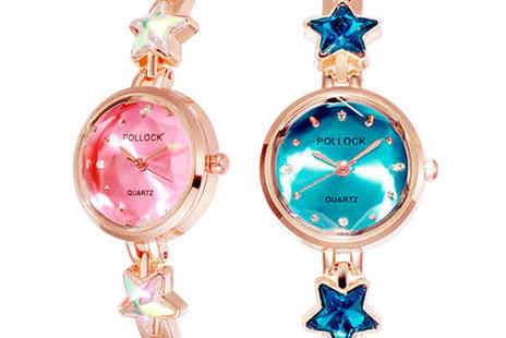 Magic Trend - Star bracelet womens watch choose from three colours - Save 74%