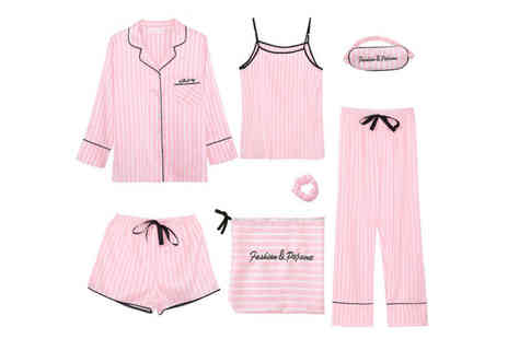 Litnfleek - 6pc pyjama set choose from four designs - Save 68%