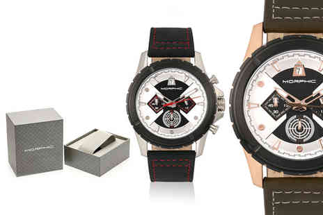 Morphic Watches - Morphic M57 series mens watch choose from seven designs Plus Delivery is Included - Save 88%