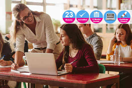 Enjoy Online Courses - Accredited 180 hour Tefl course - Save 78%
