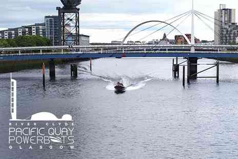 Powerboats Glasgow - Choice of powerboat tour for two people on the River Clyde - Save 53%