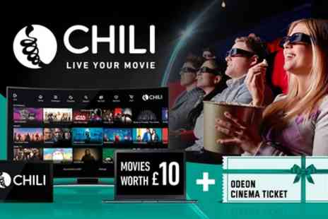 Chili - £10 Towards the Newest Movies - Save 71%