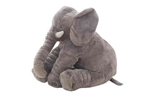 Fantasy Supply - Baby Elephant Lumbar Pillow Available in Small or Large - Save 80%