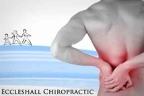 Eccleshall Chiropractic - Chiropractic Consultation with Three Treatments Including Deep Tissue Massage - Save 74%