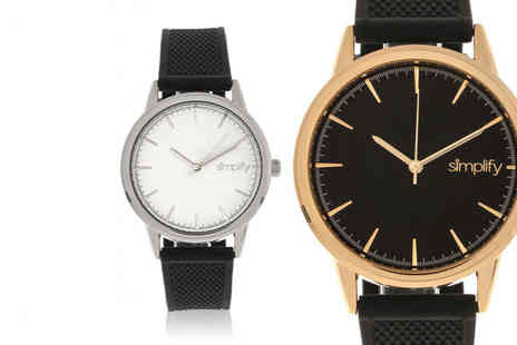 Simplify Watches - Simplify 5200 unisex watch choose from six designs - Save 0%