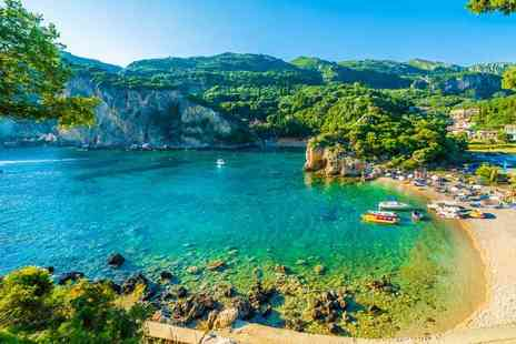 Super Escapes Travel - Seven nights all inclusive Corfu holiday with return flights - Save 25%