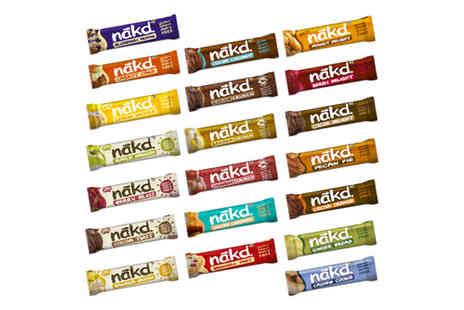Free From Direct - Choose Your Favourite Nakd cereal bar selection - Save 25%