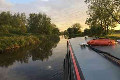 Lancashire Canal Cruises - 90 minute canal cruise for two people with afternoon tea and a glass of wine each - Save 19%