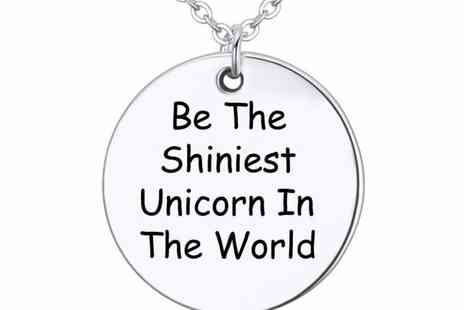 GetGorgeous - Be the shiniest unicorn in the world necklace - Save 80%