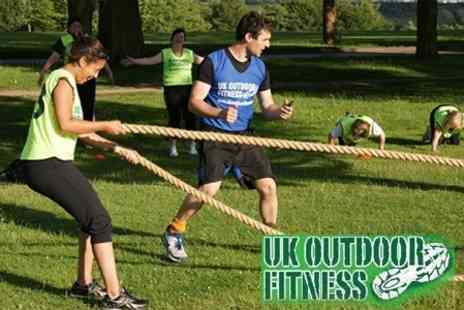 UK Outdoor Fitness - Ten Boot Camp Sessions Over Three Months or Two Months Unlimited Membership - Save 64%