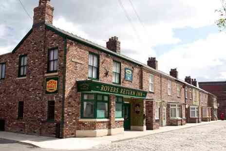 Continuum Entertainment - Tickets for two people to Coronation Street The Tour set experience, walk down the famous cobbles on a fully guided tour - Save 30%