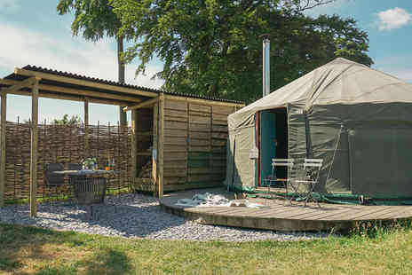 Swinton Bivouac - One night Ripon yurt stay with hot tub access for up to five - Save 45%