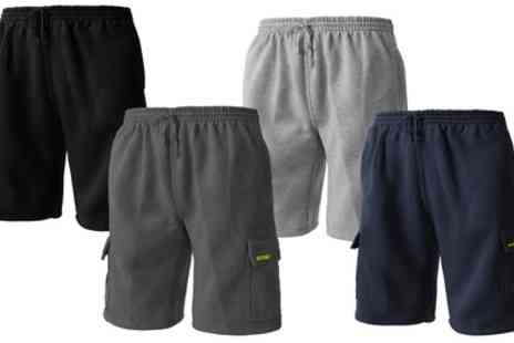 Groupon Goods Global GmbH - Site King Mens Cargo Jogging Shorts - Save 0%