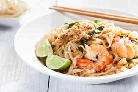 Sapsap Eat Thai - Two Course Thai Meal with Rice for Two or Four - Save 45%