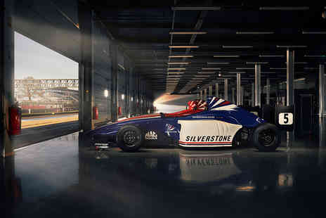 Virgin Experience Days - Drive a Single Seater Race Car and Visit the Silverstone Experience with Cream Tea - Save 0%