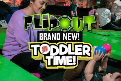 High Fly - Flip Out Wandsworth Toddler Time Trampolines, Soft Play, Bouncy Castles and More - Save 23%