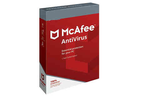 Laptop Refurbishers - McAfee Antivirus Software For 5 Devices 1 Year Protection - Save 55%