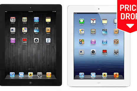 Refurb-Phone - Apple iPad 4 With 16GB Available in 2 Colours - Save 63%