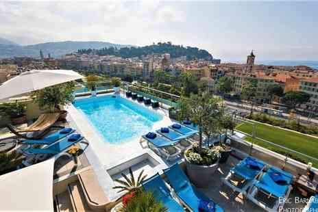 Hotel Aston La Scala - Four Star Idyllic Retreat on the French Riviera for two - Save 69%