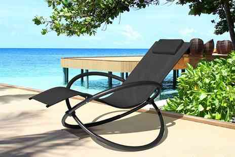 Eve Motion - Zero gravity sun lounger - Save 60%