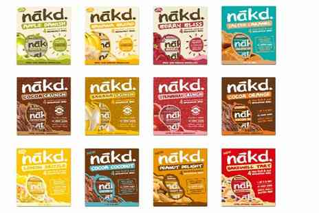 Free From Direct - Case of 48 NAKD bars - Save 0%