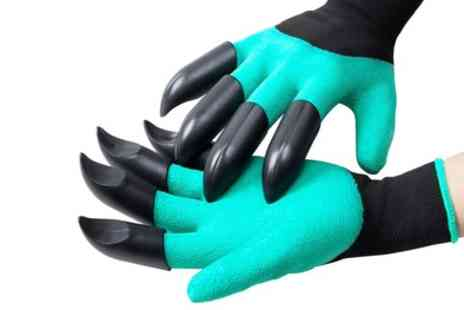 Groupon Goods Global GmbH - One or Two Pairs of Vivo Garden Gloves with Claws for Digging and Planting - Save 85%