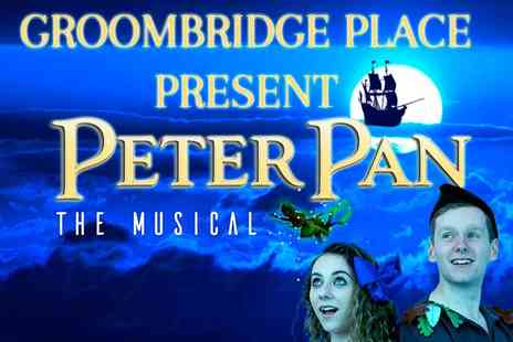 Groombridge Place - Peter Pan Spectacular this May Half Term - Save 20%